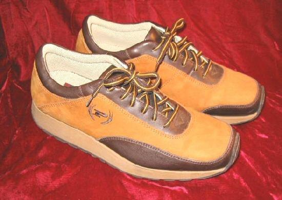 Retro Phat Farm Tan Brown Suede Leather Shoes US 10 EU 43