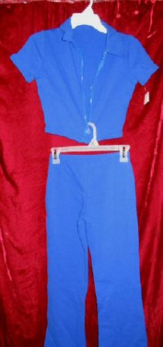NWT Girls 2PC Athletic Workout Outfit Jacket Pants M
