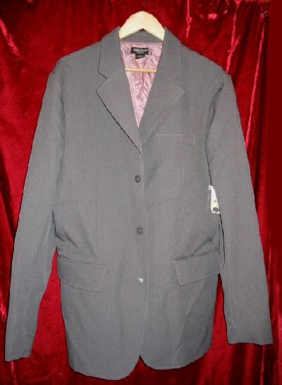 NEW Guess Jeans Pinstripe Blazer Sports Coat Jacket L