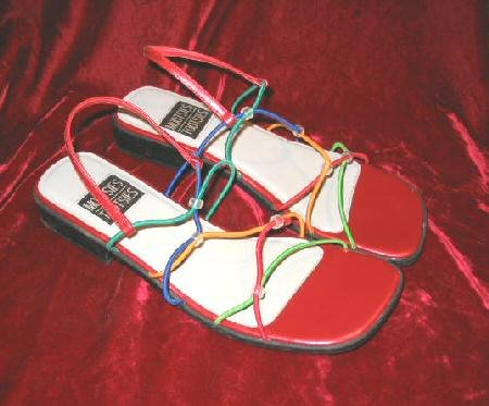 Sexy Mootsies Tootsies Sandals Shoes Slides 8.5 M
