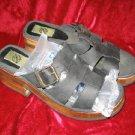 Planet Leather Platform Sandals Shoes Slides 9