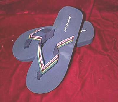 New Blue Colin Stuart Thong Sandals Slippers 11