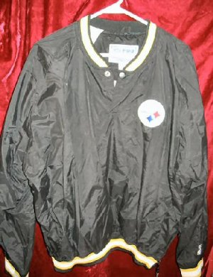Pittsburgh Steelers Pro Line Starter Jacket Pullover M