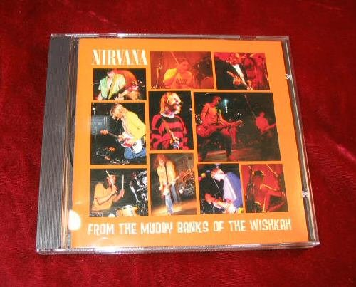 Nirvana from the muddy banks of the wishkah CD 1996