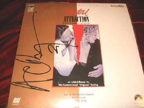 Fatal Attraction Michael Douglas Directors Series Laserdisc LD