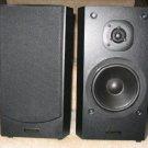 2 Techwood SAT62 2-way Bookshelf Speakers Black Stereo