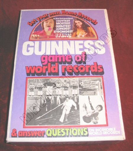 Vintage 1975 Parker Brothers Guinness Game of World Records