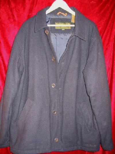 Timberland WeatherGear Wool Pea Coat Winter Jacket L