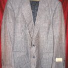 Vintage NEW Evan Picone Suit Jacket Sport Coat 44 Long Clothing