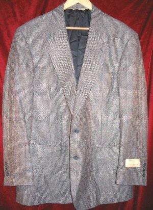 Vintage NEW Evan Picone Suit Jacket Sport Coat 44 Long Clothing