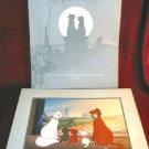 Disney ARISTOCATS 1996 Commemorative Lithograph Framed