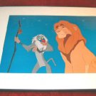 Disney Lion King 1995 Commemorative Lithograph Framed