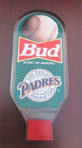 San Diego Padres Baseball Beer Tap Handle Budweiser BUD