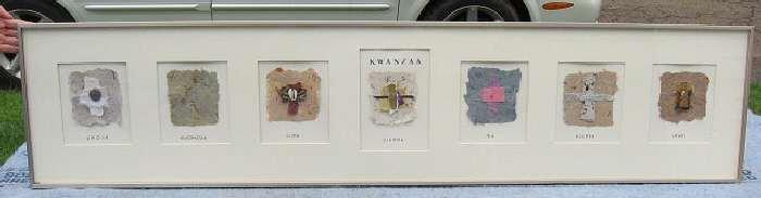 The Seven Principles of Kwanzaa Nguzo Saba Artwork