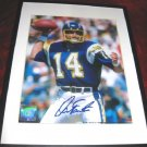 San Diego Chargers Dan Fouts Signed Autograph HOF