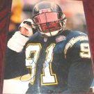 San Diego Chargers Leslie O'neal Signed Autograph COA