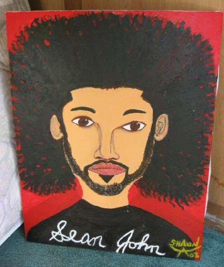 "Sean John Signed Original Canvas Oil Painting 22""x28"""