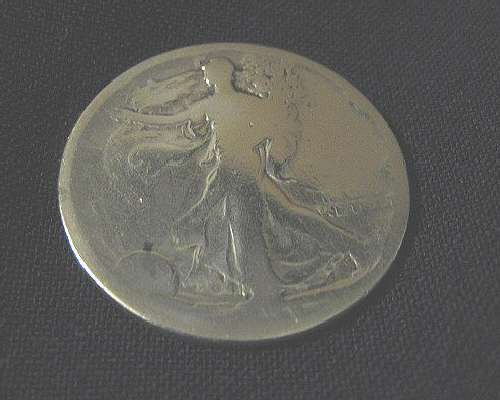 1918 S Liberty Walking Half Dollar E.Pluribus Unum Coin Silver .36 Troy Ounce