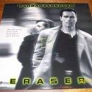 Eraser Laserdisc LD Arnold Schwarzenegger MINT