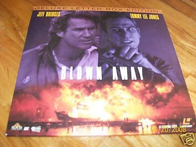 Blown Away Laserdisc LD Jeff Bridges Tommy Lee Jones MINT