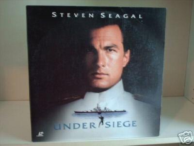 Under Seige Laserdisc LD Steven Seagal MINT