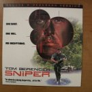Sniper Laserdisc LD Tom Berenger MINT