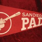 1969 San Diego Padres MLB Baseball Red Banner Pennant Flag