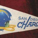 San Diego Chargers NFL Football Banner Pennant Flag