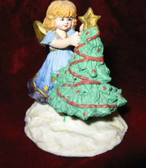 Angel Christmas Tree Ornament by Applause