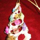 Unique Seashells Christmas Tree Ornament