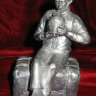Michael Ricker Pewter Boy Scout Drinking Cargo Signed