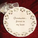 RUSS Grandmother Forever in my Heart Decorative Plate