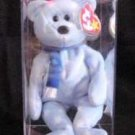 Ty Beanie Babies 1999 Holiday Teddy Bear Snowflake Case