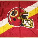 5'x3' NFL Washington Redskins Large Helmet Flag Banner