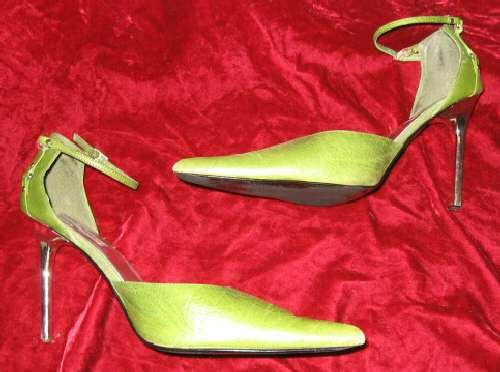 Steve Madden Buxum Leather Pumps Shoes 10 M Pointed Toe