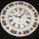 St. Louis Fine Bone China Kienzle Quartz Plate Clock England