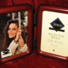 New Fetco Beacon Hill 2 Folding Wooden Photo Frames 3x5