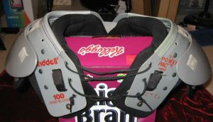 Riddell Youth Football Shoulder Pads Power Pac size 12-13