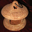 RUSS Berrie Ceramic Bird Feed Candle Holder 100518