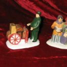 4 Dept 56 Dickens Heritage Village Accessories Figurine
