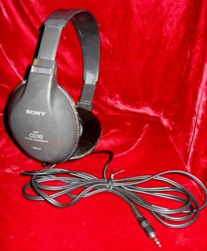 Sony Stereo Headphones MDR-CD10 Digital Reference