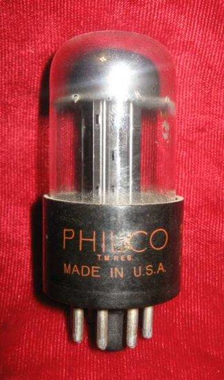 Vintage Radio TV Vacuum Electron Tube Philco