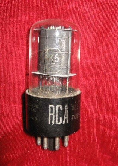 Vintage Radio TV Vacuum Tube RCA O-43 6K6GT