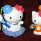 Lovely 2 Hello Kitty Keychain Figurine Figure Ornament