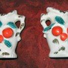 2 Miniature Vintage Bud Vase Porcelain Japan