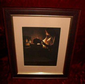 Georges de La Tour The Repentant Magdalene Framed Print