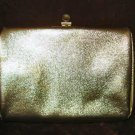 Vintage Gold Purse Handbag Clutch Evening Bag