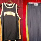 Nice Puma Blue Tank Top & Everlast Pants