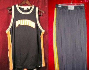 Nice Puma Blue Tank Top & Everlast Pants