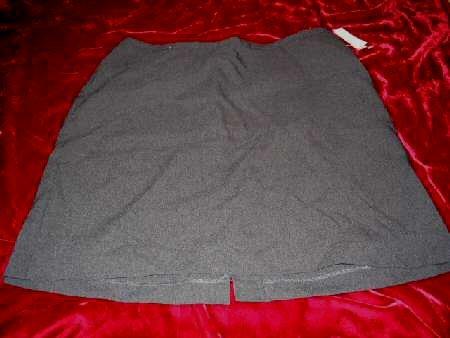 NEW NY&Cmpany City Stretch Gray Mini Skirt Sz12 Business Sexy HOT